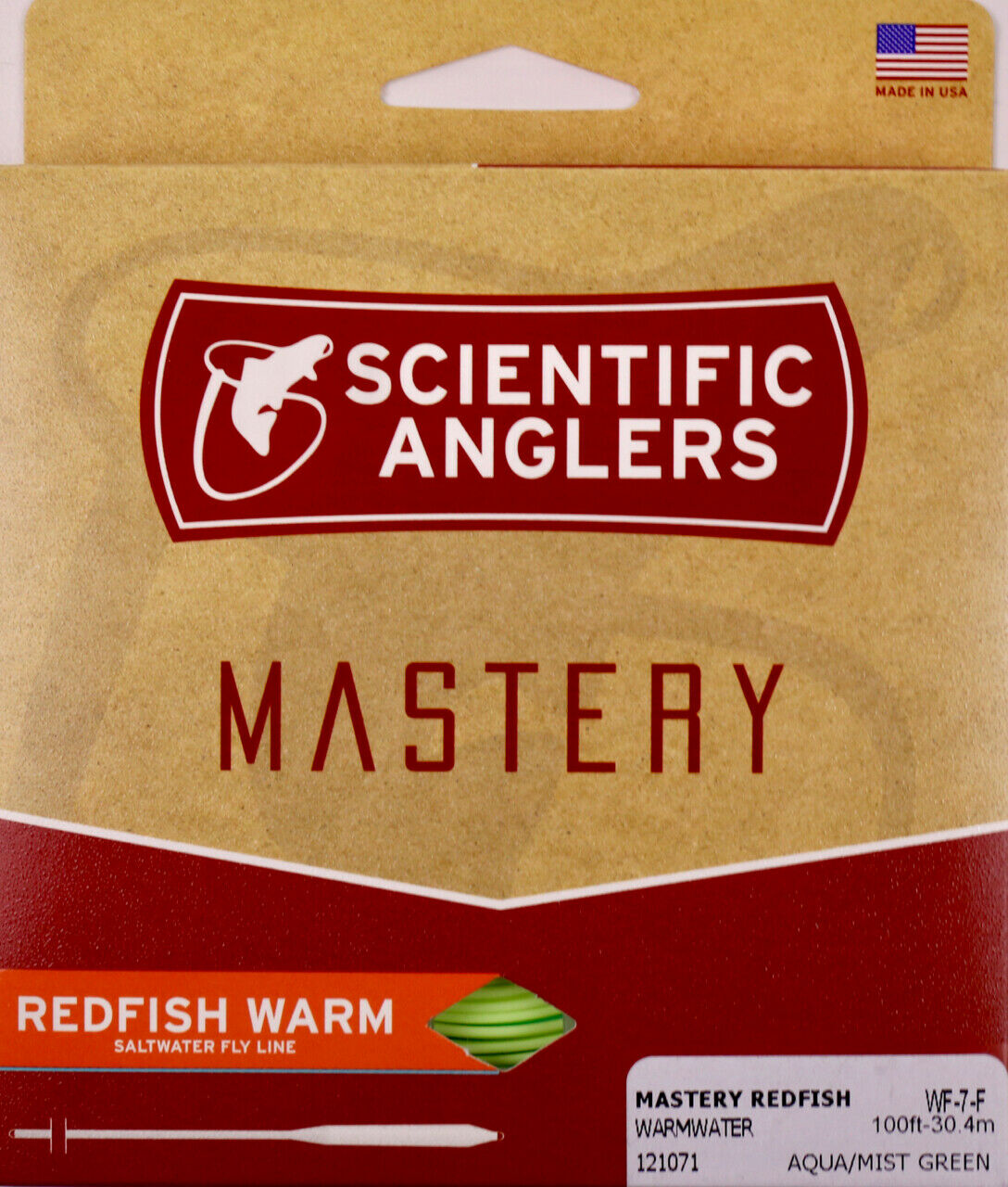 Scientific Anglers Mastery rossofish Cold Fly Line WF10F FREE FAST SHIP 126120