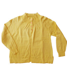 Cardigans-nina-chaquetas-de-Newness-amarillo-talla-8