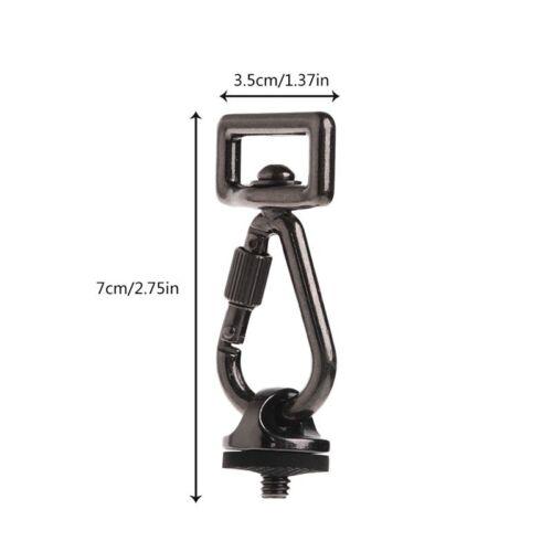 1PC SLR DSLR Camera 0.25 in Screw Connecting Adapter Hook Shoulder Sling Strap #
