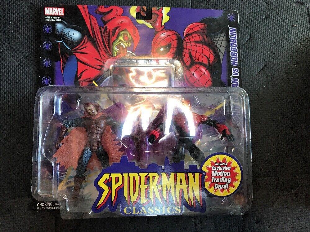 SPIDERMAN CLASSICS SPIDERMAN vs HOBGOBLIN  MARVEL MOC