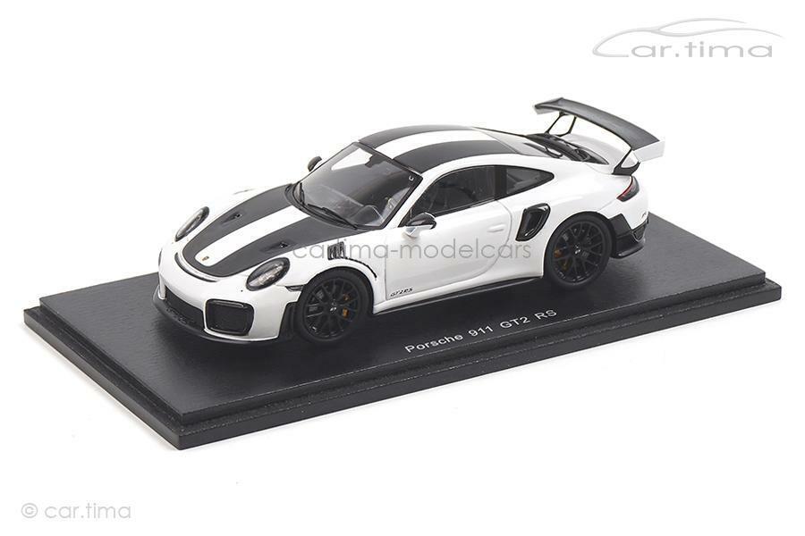 Porsche 911 (991 II) gt2 rs Weissach Paquet-Blanc-Spark 1 43 - s7629