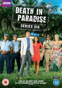 Death-in-Paradise-Series-Six-DVD-2017-Kris-Marshall-cert-12-3-discs