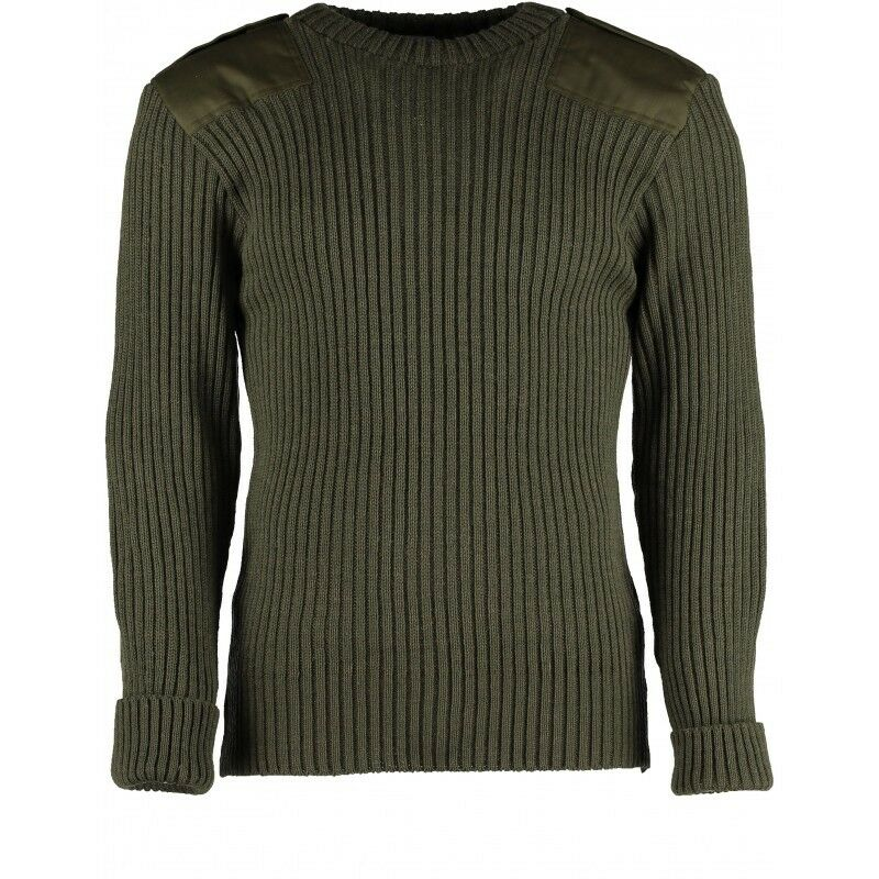 WOOL NATO   ARMY JUMPER. WOOLLY PULLY. OUTDOOR,UNIFORM,SECURITY,MILITARY,  09025