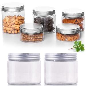 10PCS-50ml-250ml-Empty-Cosmetic-Pots-Lip-Balm-Container-Jar-Aluminum-Tins-M-N5S3