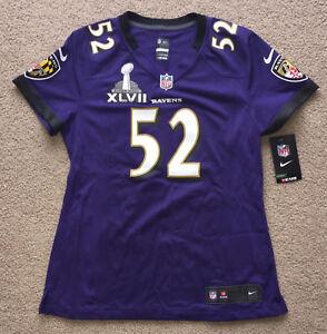 4e4e00baa Ray Lewis Baltimore Ravens Nike Women s Jersey Super Bowl XLVII ...