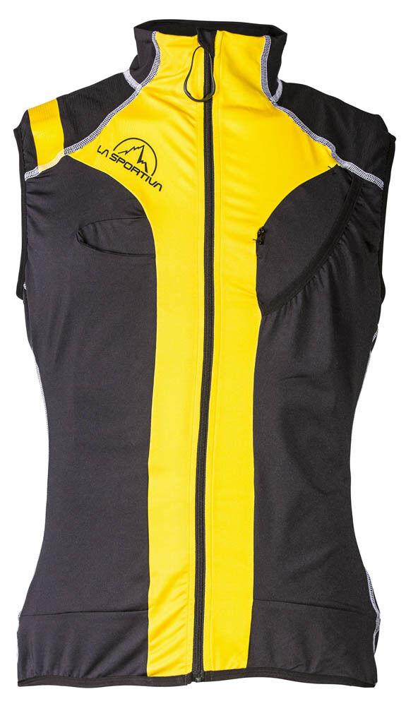 La Sportiva Syborg Racing Vest (S) Gelb Grau