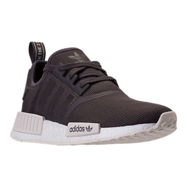 brand new d9ad1 7c511 AUTHENTIC adidas NMD R1 Runner Urban Trail Brown Chalk White AC7064 Men size