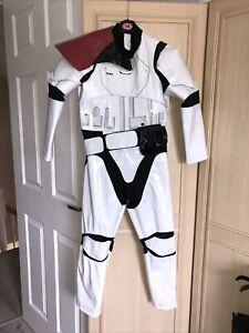 Boys Fancy Dress STORM TROOPER Age 7-8 Star Wars By Disney
