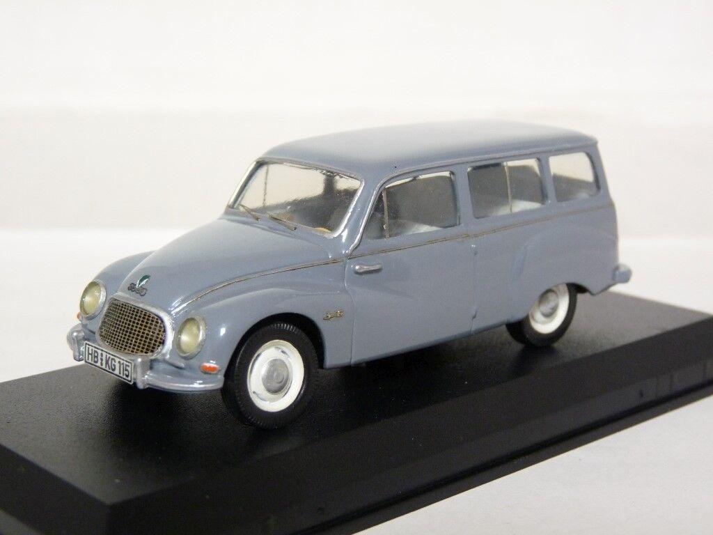 EMC 1 43 1957 DKW 3=6 Sonderklasse F93 Universal Handmade Resin Model Car
