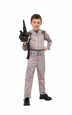 Ghostbusters Boys Costume Kids Fancy Dress Outfit Ghost Halloween Horror License