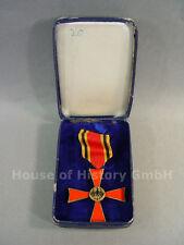 90712, Cruz del Mérito, 2. clase en estuche, temprana tostadores ejecución