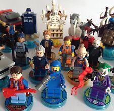 Lego Dimensions - Dr Who Dalek, Batman, Ghostbusters Jurassic World, Cyberman