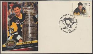 CANADA # 3031.18 - LEGENDS of HOCKEY MARIO LEMIEUX on SUPERB FIRST DAY COVER