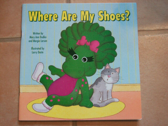 Where Are My Shoes by Mary Ann Dudko Barney Publishing 1993 FREEPOST