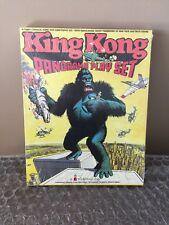 VINTAGE KING KONG COLORFORMS PANORAMA PLAYSET 1976 Dino de Laurentiis' SEALED!!!