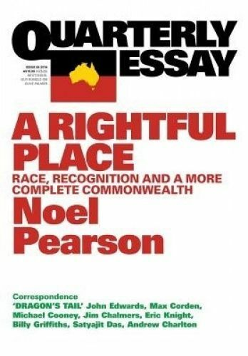 1 of 1 - A Rightful Place: Race Recognition and a More Complete Commonwealth Noel Pearson