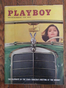 June 1960 Playboy *VERY GOOD+ COND* Ellen Stratton PMOY Rat Pack Cole Porter