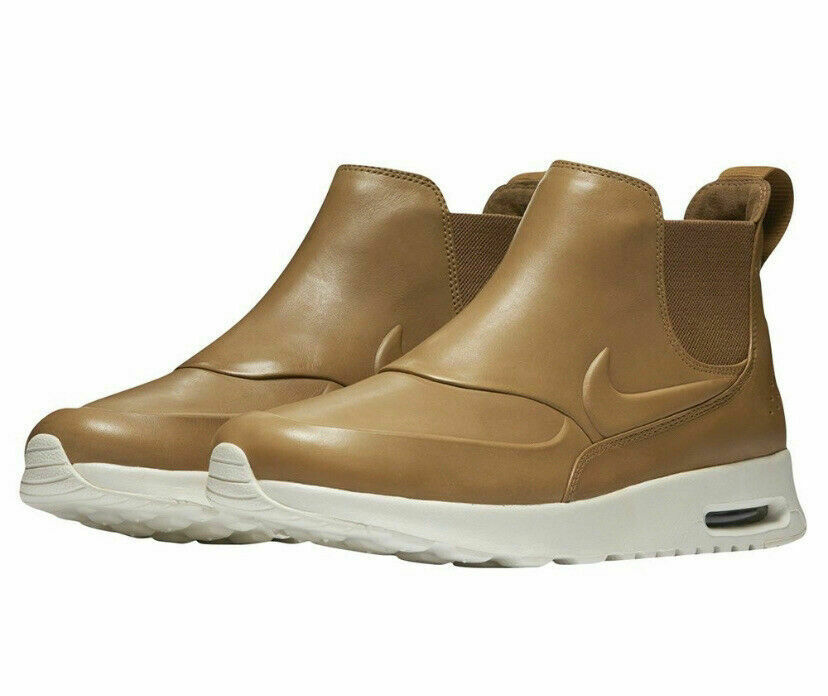 Revelar Centelleo Garganta  🔥 Nike Air Max Thea Mid Ale Light Brown Womens Boots Shoes 859550-200 Size  11 for sale online
