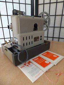 Eumig-Wien-type-P8-Automatic-Projector-and-Case