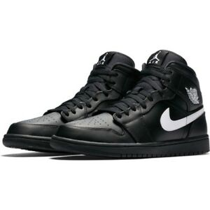 1 brand New 12 Black Air Nike Uk Jordan Mid Box In Trainers EwqUfg8