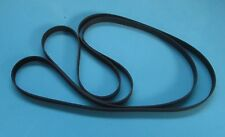 FIVE x LINN SONDEK LP 12 DRIVE BELTS WITH CLEANING PADS. NEW TOP QUALITY