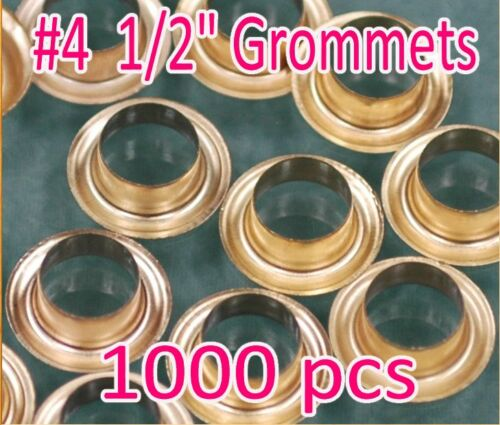 """1000 #4 1//2/"""" Grommet and Washer Eyelet Grommets Machine Sign Punch Tool Banner"""