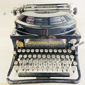 Continental Silenta Typewriter - Beautiful!
