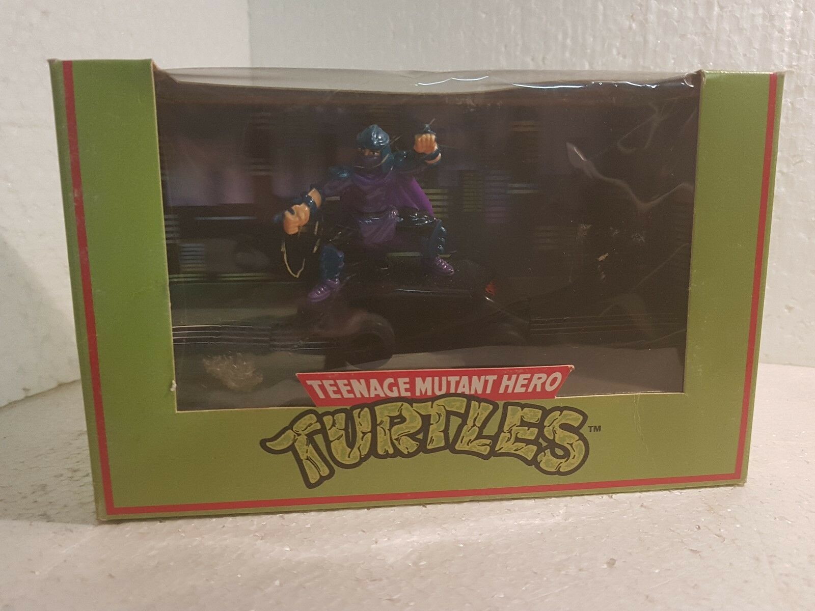 Qq C134 SCALEXTRIC UK TURTLES SHREDDER TEENAGE MUTANT NINJA TURTLES C 134