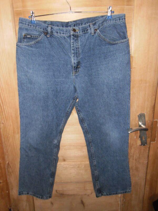 Begeistert Herren Vintage 90er Jahre Jeans Gr. W42/l30 *** Lee Jim *** Mittelblau Top Zust.