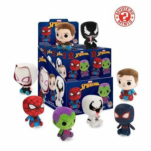 Funko Spider-Man Mystery Minis plüschies personaggi del cieco BAG BOX NUOVO