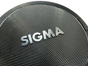 SIGMA-86mm-Front-Lens-Cap-snap-on-type-Genuine-original-OEM-Black