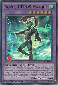 Yu-Gi-Oh-Blast-HEROS-Masque-Masked-HERO-RATE-FRSE2-VF-Super-Rare