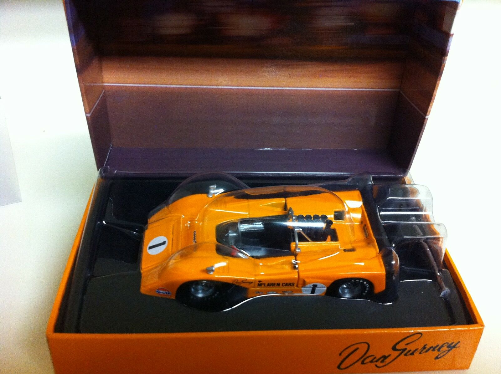 gran descuento GMP 1969 1969 1969 Dan Gurney  1 McLaren M8B 1 43 Ala Alta  salida