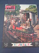 vie du rail 1955 505 BEAUCAIRE SAINTES CHALONS BERGèRE VERTUS RAISMES MISTRAL LE