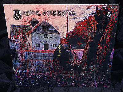 Black Sabbath ‎Black Sabbath SEALED USA 1970 1st Press? VINYL LP W/ NO BARCODE