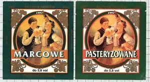 POLAND-Browar-Grybow-MARCOWE-woman-beer-labels-C2075-036