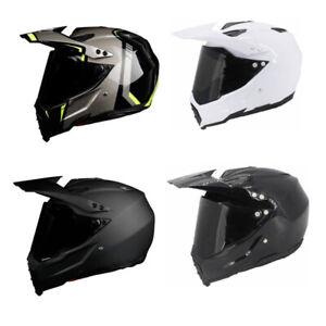 DOT-Motocross-Motorcycle-Helmet-Full-Face-ATV-Dirt-Bike-Offroad-Helmet-w-Visor