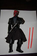 "Darth Maul Electronic 12"" Figure-Hasbro-Star Wars 1/6 Scale Customize Side Show"