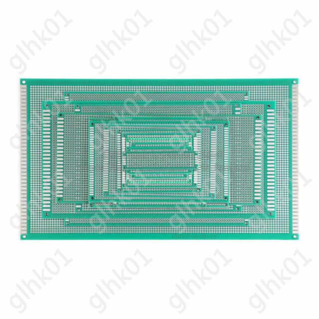 5 Pcs Universal 9x15cm DIY Prototype Copper PCB Circuit Plate Board New