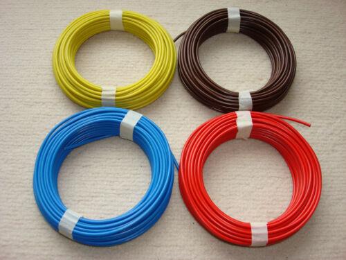 2 X 10 m Kabel Litze flexibele Kupferschaltlitze 0,75mm² Märklin 71060 TOP PREIS