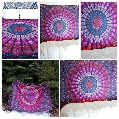 Wholesale lot 10 pc Indian Mandala Tapestry WallHanging Tapestry Bedspread Twin