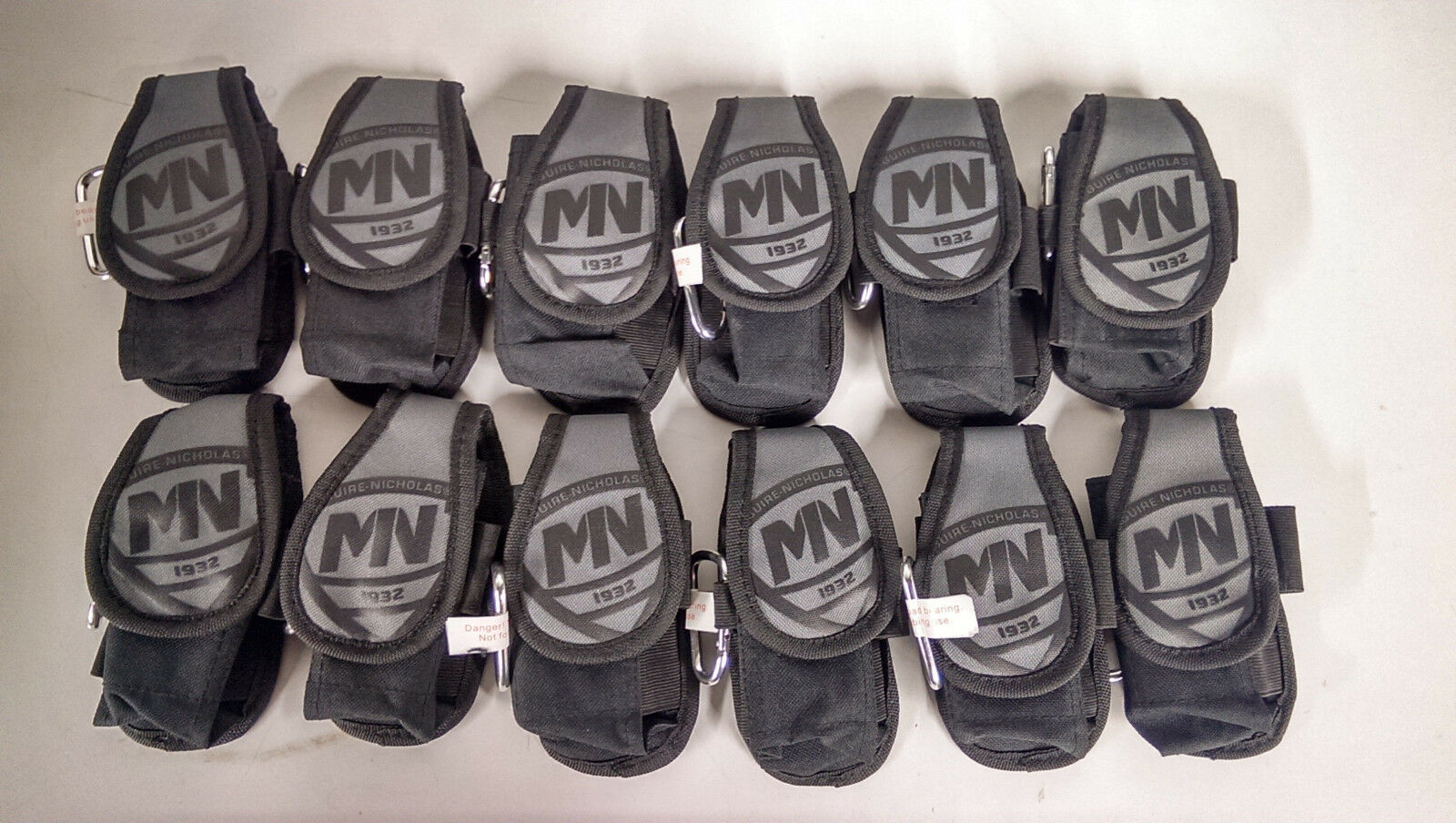 McGuire-Nicholas Polyester Toughwear Adjustable Smart Phone Holder (Lot of 12)