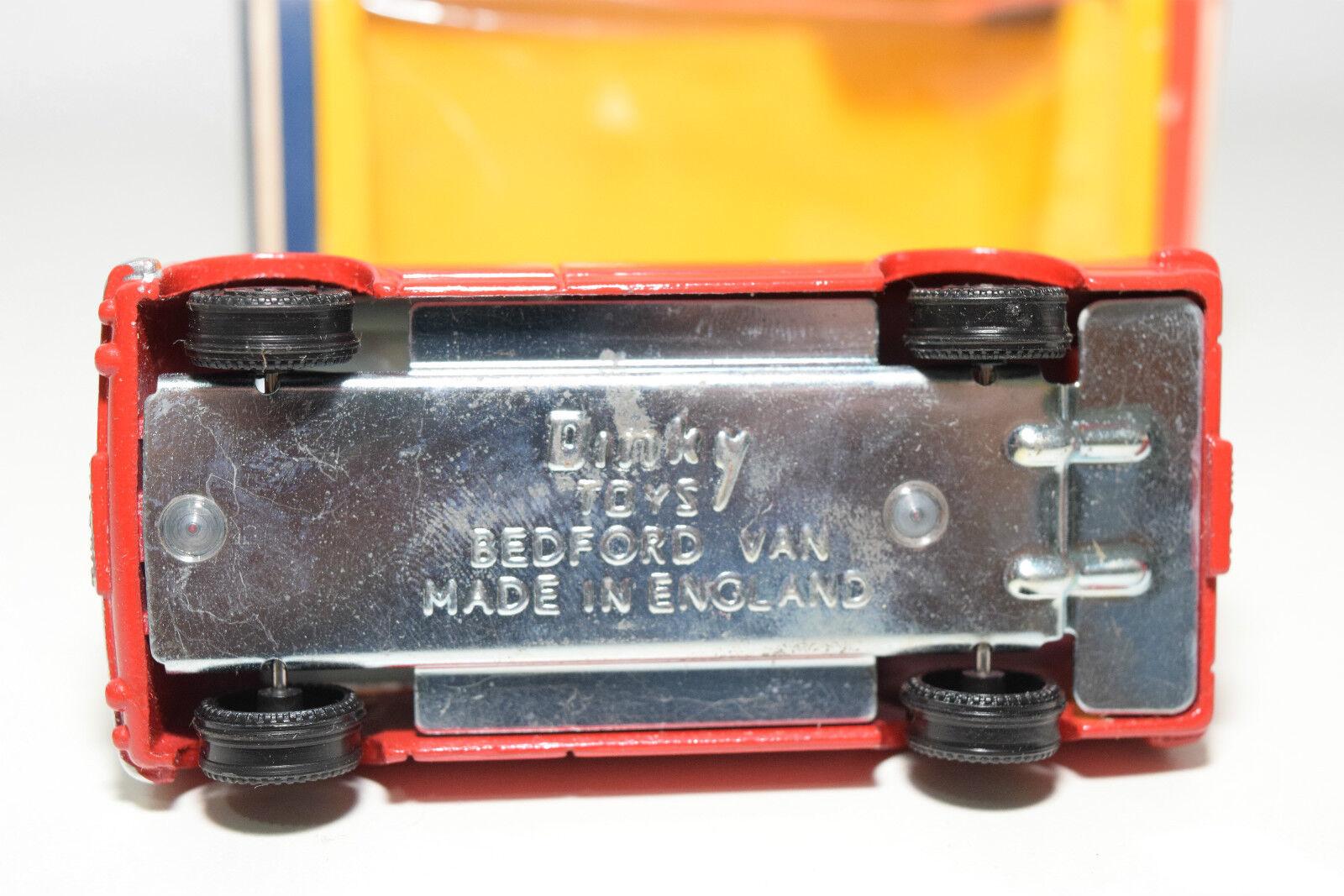 DINKY TOYS 410 BEDFORD AA VAN VAN VAN BROOKE BOND TEA MINT BOXED RARE SELTEN JOHN GAY bc1161