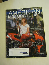 December 2011 American Motorcyclist Magazine, The Stuntwoman (BD-14)