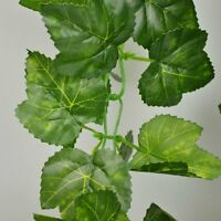Rurality 8 Ft Artificial Silk English Ivy Wedding Garland ,grape Leaves,pack Of