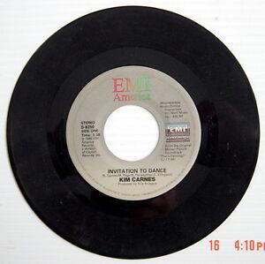 1985-039-S-45-R-P-M-RECORD-KIM-CARNES-amp-HAVEN-INVITATION-TO-DANCE-BREAKTHROUGH