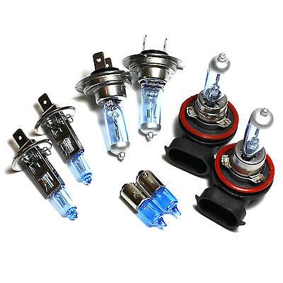 Renault Modus H1 H7 501 100w Clear Xenon HID High//Low//Side Headlight Bulbs Set