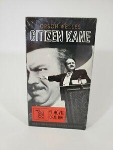 Orson Welles Citizen Kane VHS New Sealed