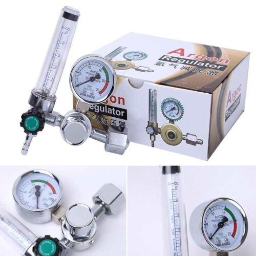 CGA580  Argon CO2 Regulator Gauge Flow Meter for Mig Tig Welding Gas Welder25MPa
