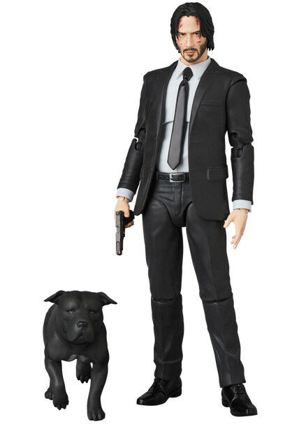 LÄKARE MAFEX JOHN WICK CHAPTER2 nr.085 Figur Keanu Reeves